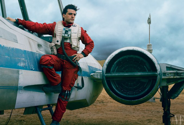 star wars vanity fair oscar isaac