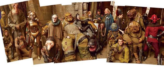 star wars vanity fair rogues