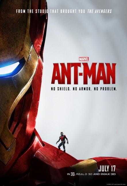 iron man ant man poster