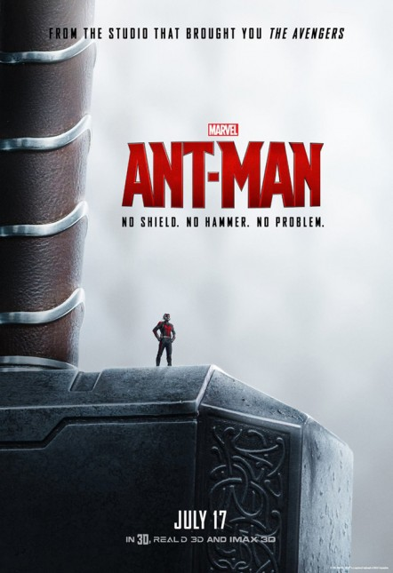 thor ant man poster
