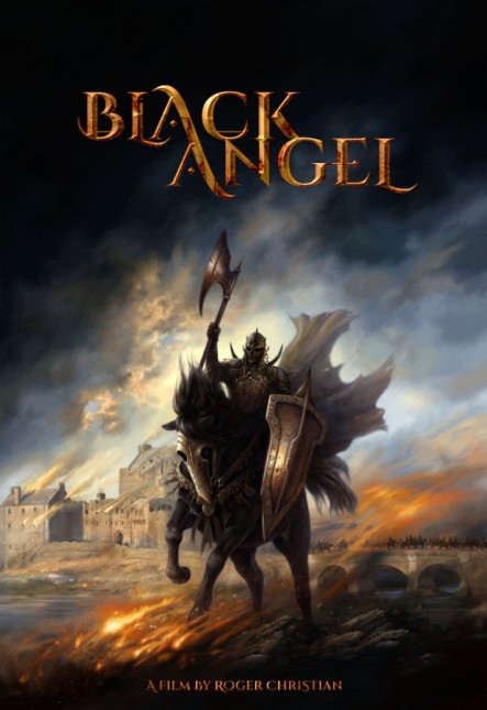 black angel teaser poster