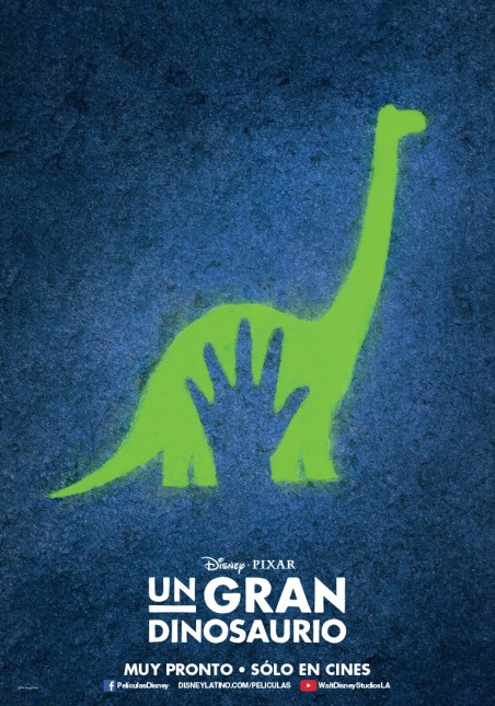 un gran dinosaurio poster