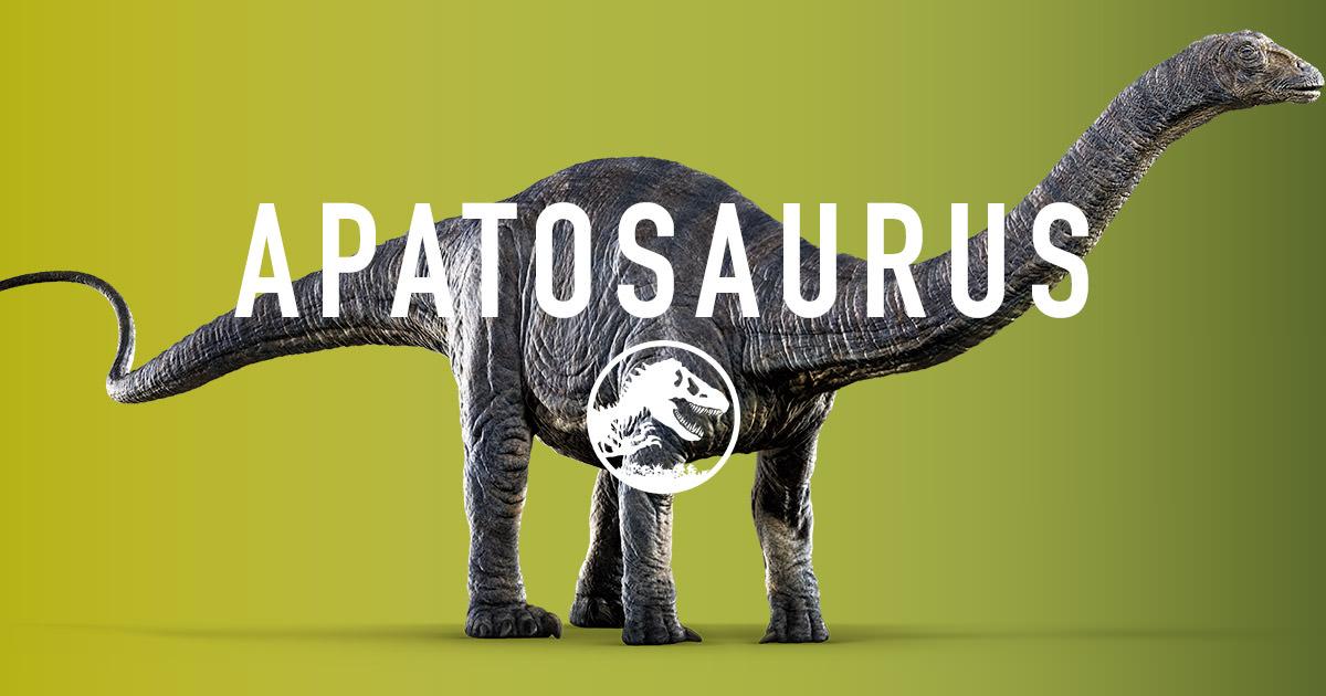 apatosaurio jurassic world