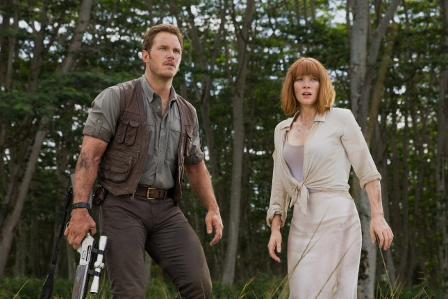 bryce dallas howard chris pratt jurassic world
