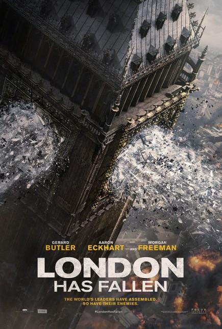 olimpo bajo fuego 2 poster