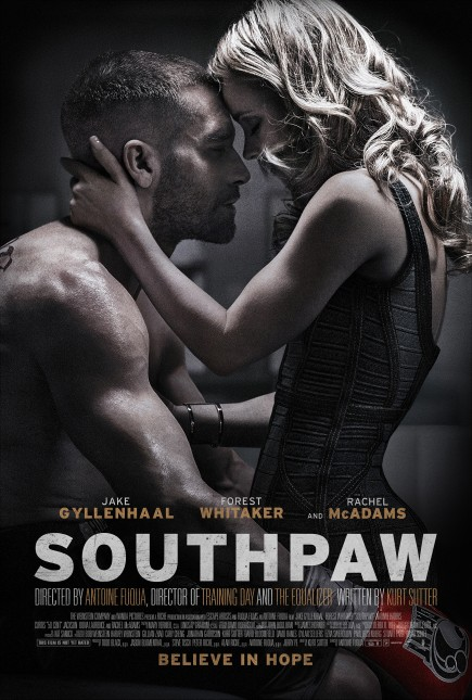 southpaw poster pelicula