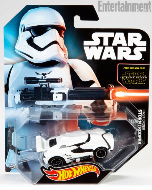 hot wheels stormtrooper despertar fuerza