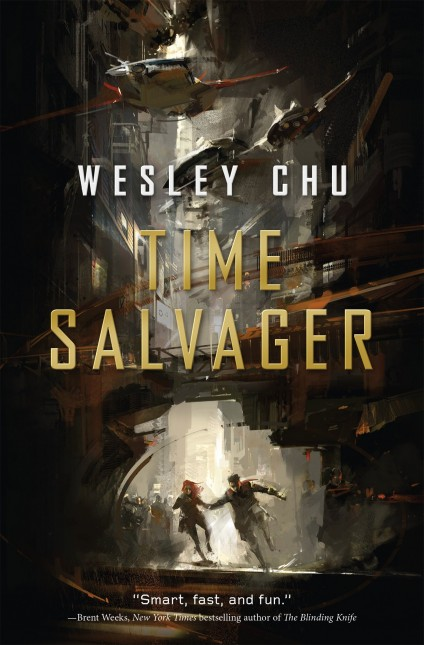 time salvager book cover