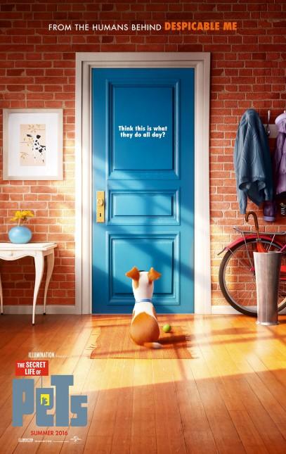 vida secreta mascotas poster