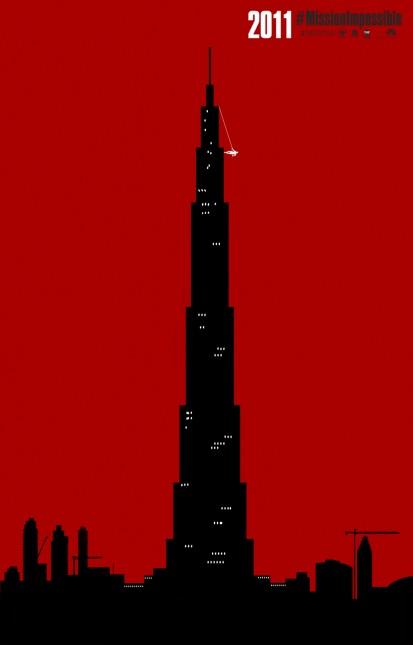 mision imposible protocolo fantasma 2011 poster
