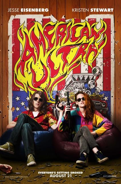 american ultra comic con poster