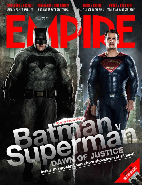 portada empire batman v superman