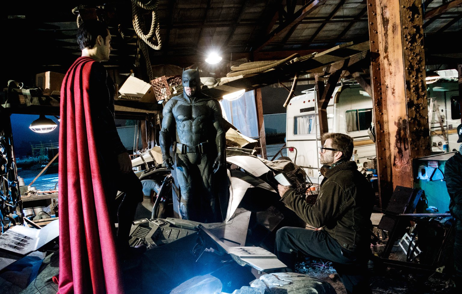 filmacion batman v superman