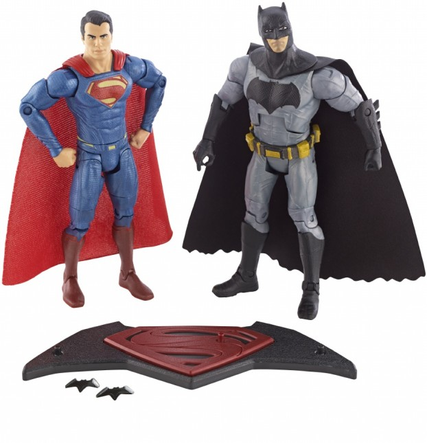 juguetes figuras accion Batman V Superman
