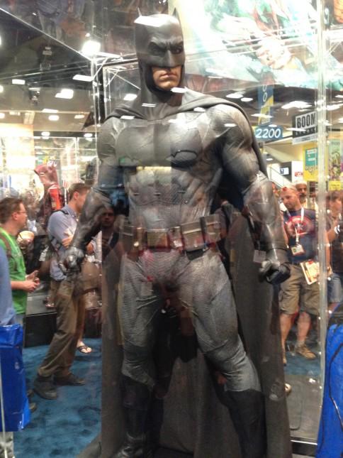 traje batman comic con 2015