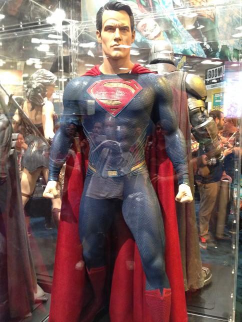 traje superman comic con 2015