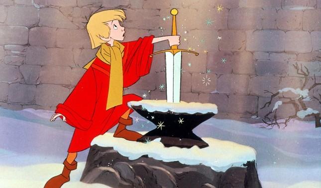 espada en la piedra