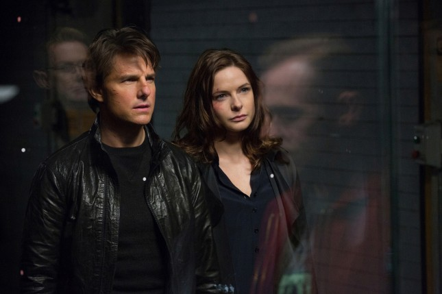 mision imposible nacion secreta tom cruise rebecca ferguson