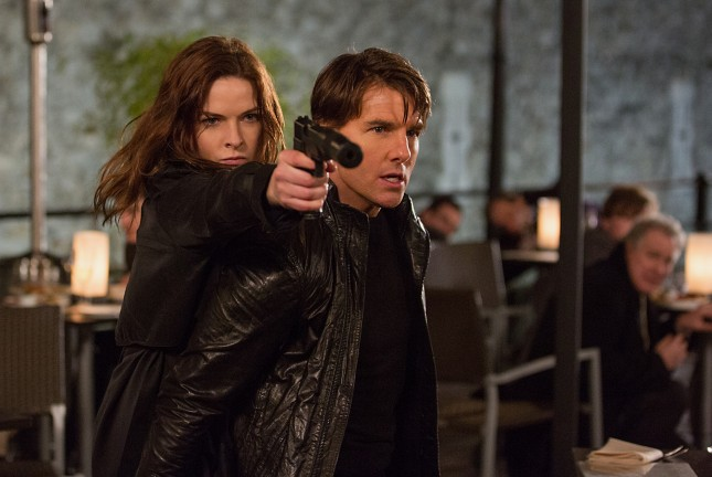 rebecca ferguson tom cruise mision imposible nacion secreta