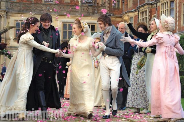 Orgullo y Prejuicio y Zombies boda