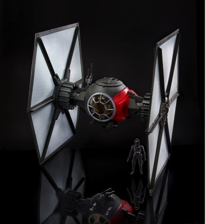 tie fighter primer orden despertar fuerza star wars juguete