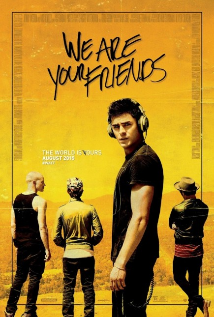 poster we are your friends