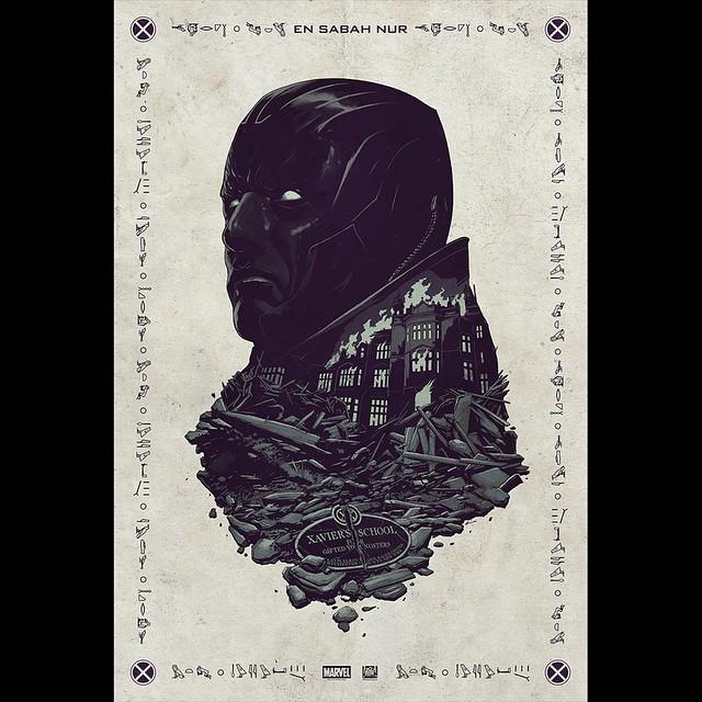 x men apocalipsis comic con poster