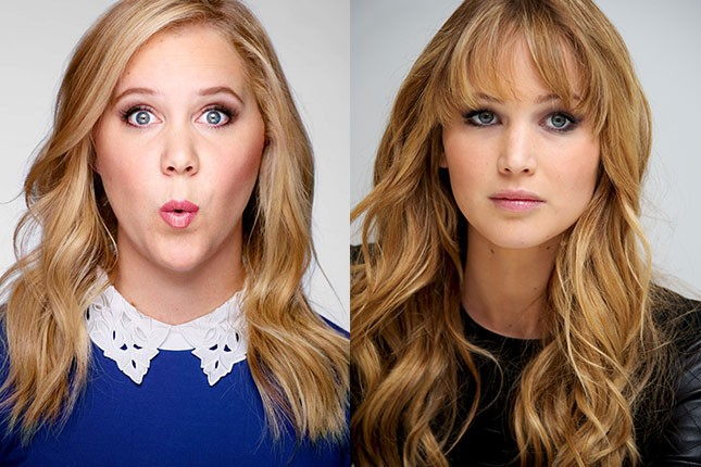 amy schumer jennifer lawrence