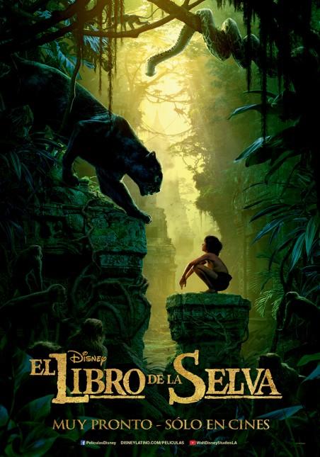el libro de la selva disney poster