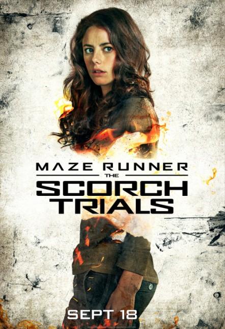 kaya soderlario poster maze runner 2