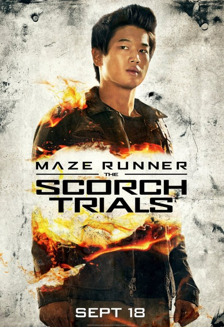 maze runner 2 ki hong lee poster