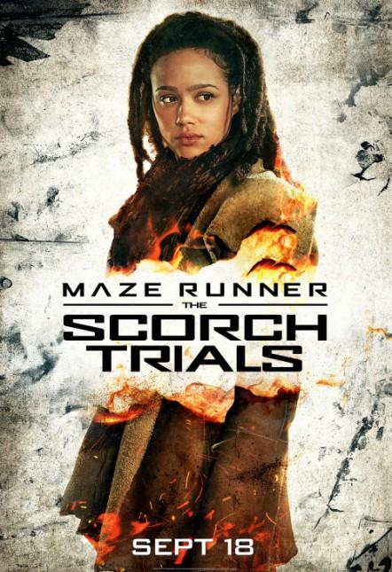 maze runner 2 nathalie emmanuel poster