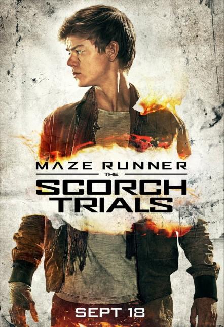thomas brodie maze runner prueba de fuego