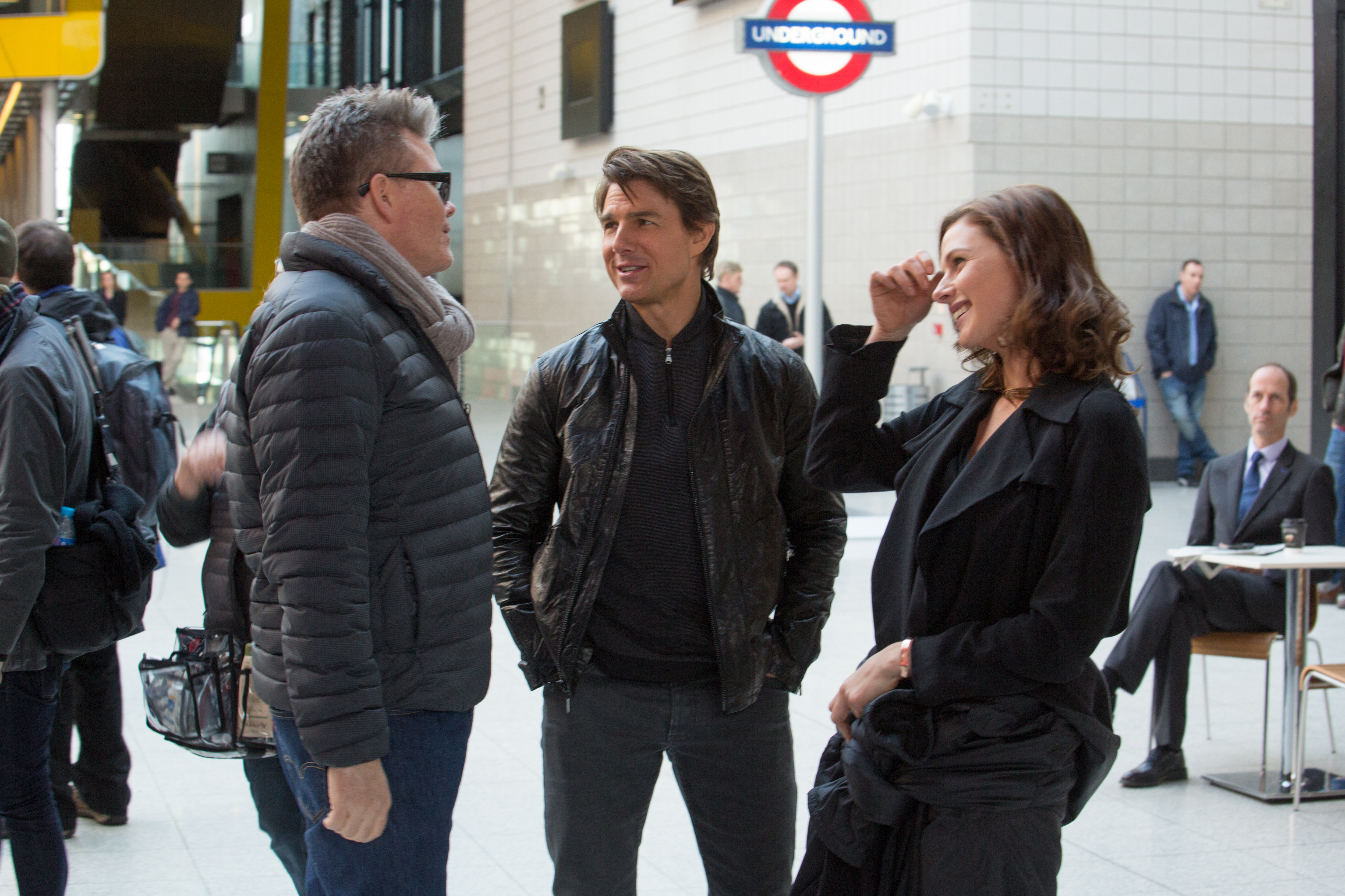 mision imposible 5 christopher mcquarrie tom cruise y rebecca ferguson