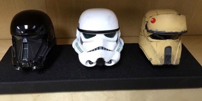 rogue one helmets cascos