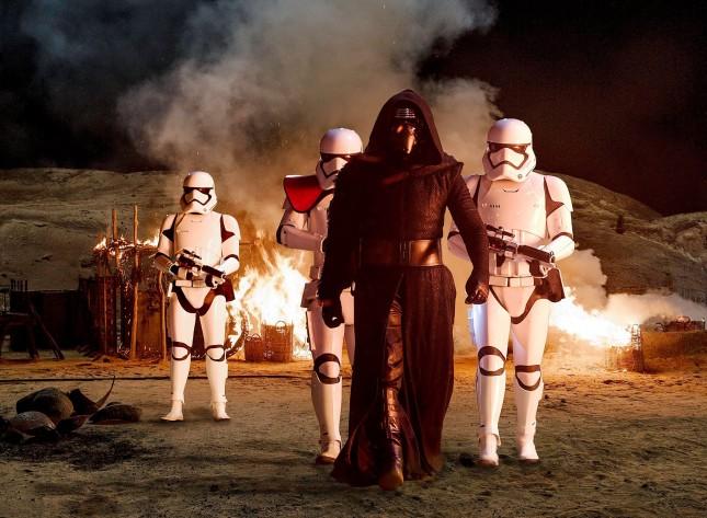 kylo ren first order troopers