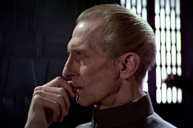peter cushin grand moff tarkin