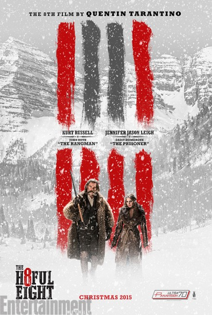 kurt russell jennifer jason leigh poster hateful eight