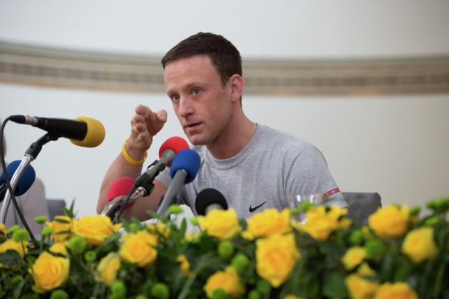drugs are bad lance armstrong ben foster