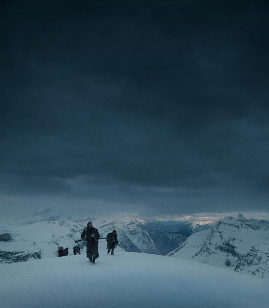El Renacido: La nieve