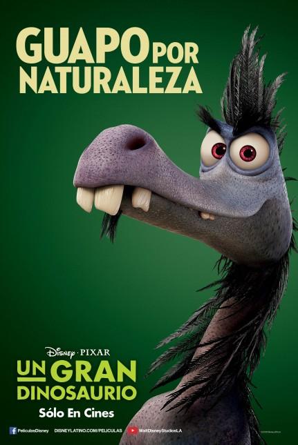 gran dinosaurio raptor poster