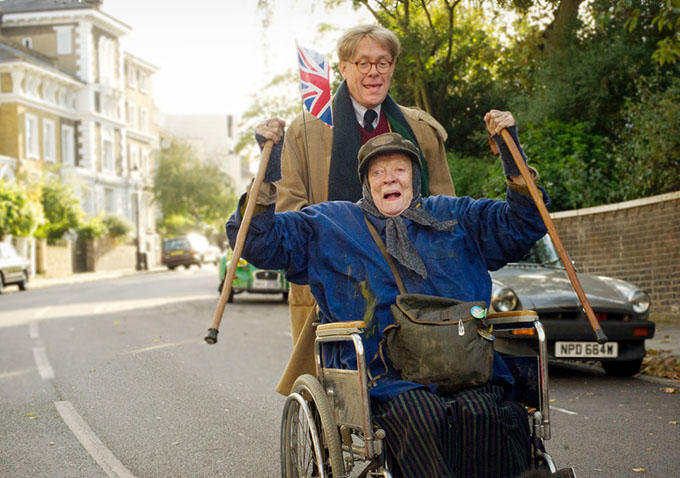 maggie smith alex jennings lady in the van