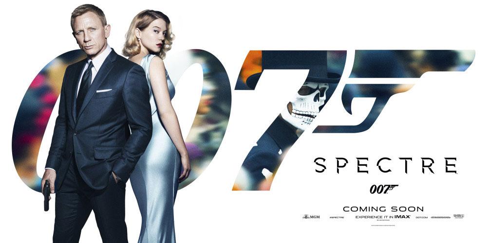 banner 007 spectre lea seydoux daniel craig