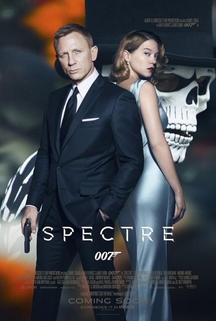 007 spectre poster daniel craig lea seydoux