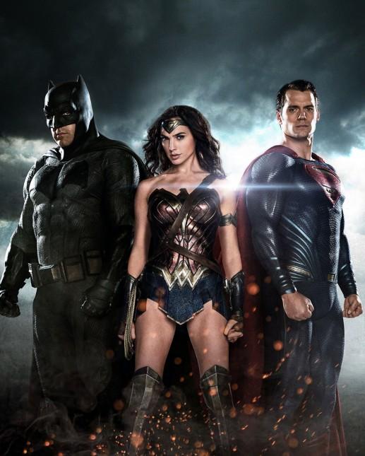 batman mujer maravilla superman 2016