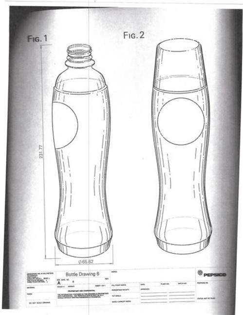 pepsi perfect bottle