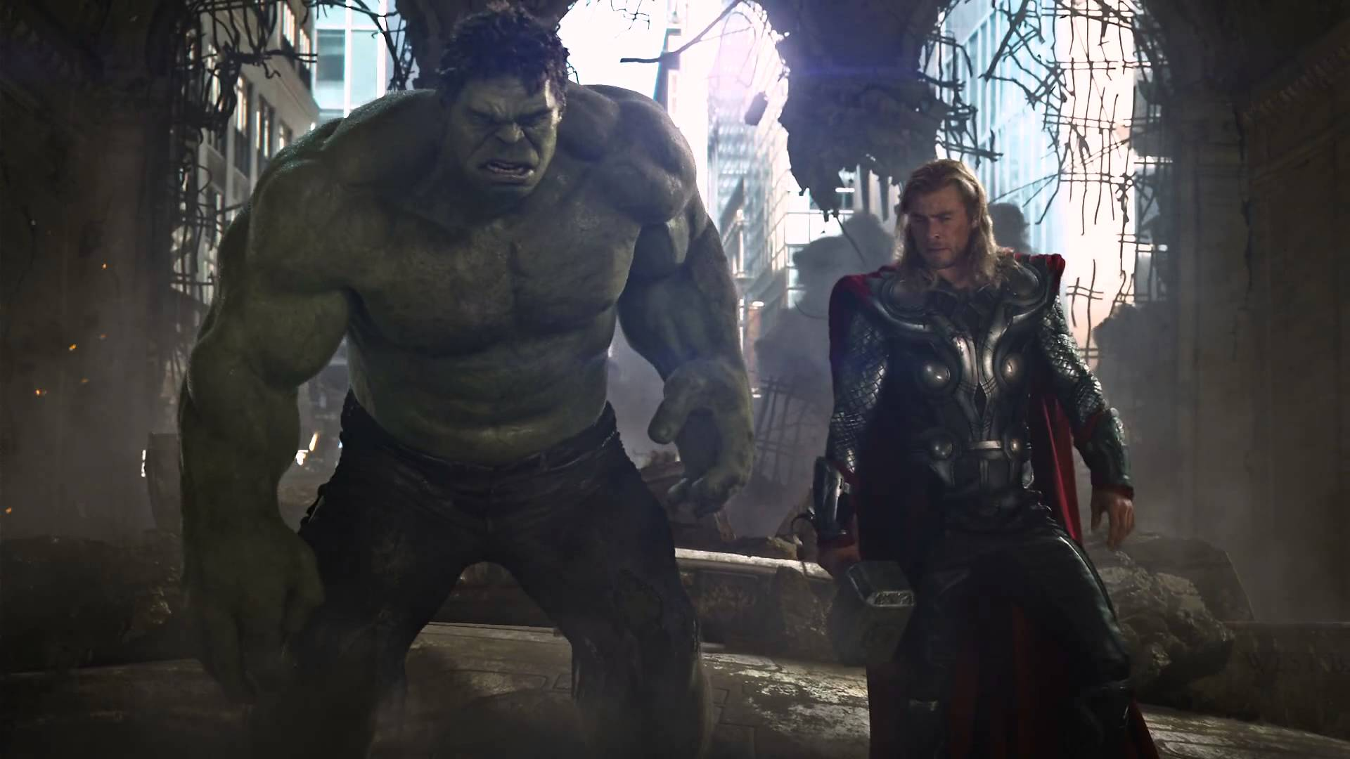 hulk thor avengers ultron