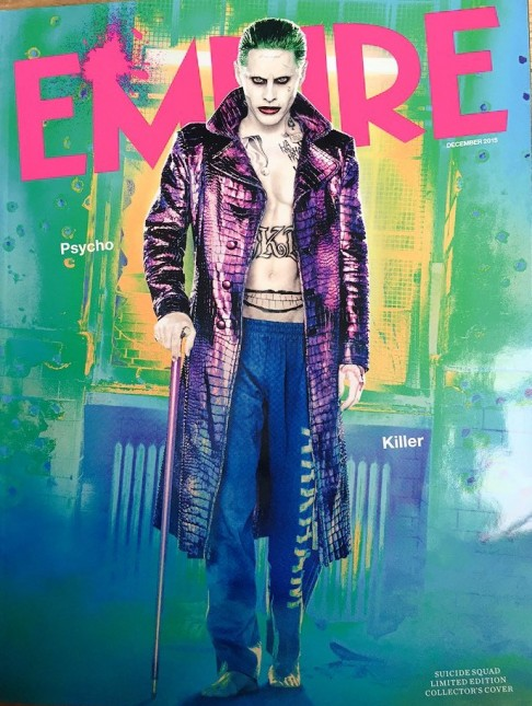 suicide squad joker jared leto portada empire