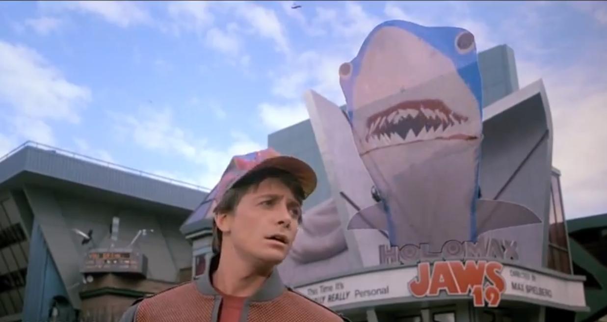 tiburon 19 volver al futuro