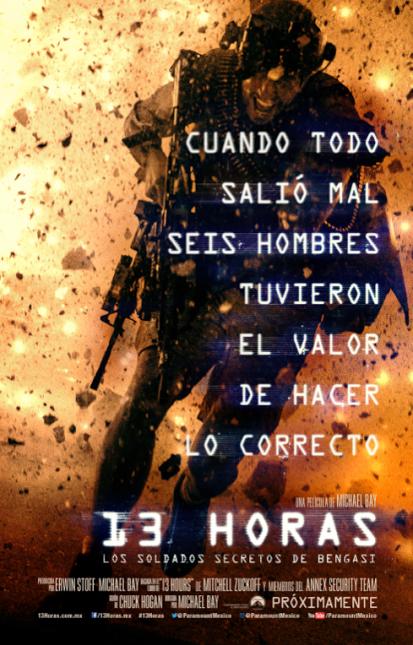 poster 13 horas soldados secretos